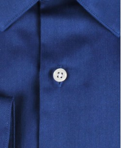 ENZO-032-3 Slim fit poplin royal blue shirt