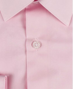ENZO-032-5 Slim fit poplin pink shirt