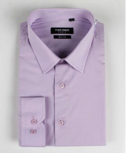 SLIM1009-24 Purple shirt slim fit