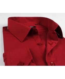 BIG-7001-7 Burgundy shirt XL to 5XL