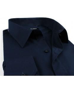 BIG-7001-74 Navy blue shirt XL to 5XL