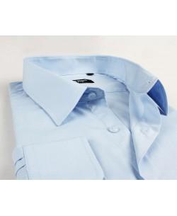 BIG-7001-78 Sky blue shirt XL to 5XL
