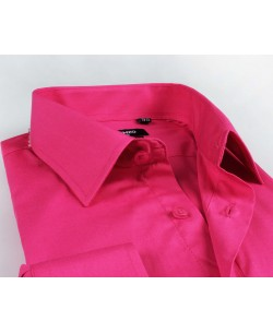 YE-201 Fucshia pink shirt regular fit