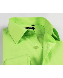 YE-211 Green shirt regular fit