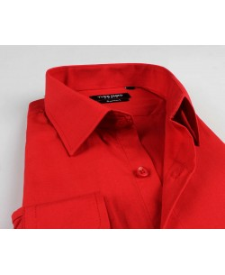 YE-222 Red shirt regular fit
