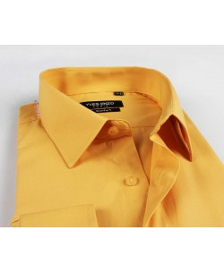 YE-279 Golden regular fit shirt