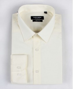 SLIM1009-15 Ivory shirt slim fit