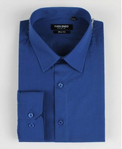 SLIM1009-8 Royal blue shirt slim fit