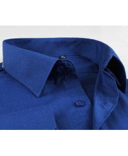 YE-208 Royal blue shirt regular fit