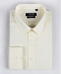 YE-215 Ivory shirt regular fit