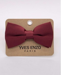 NP-408 Burgundy bow tie