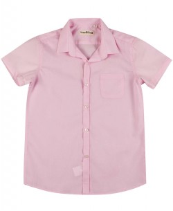 KIDS-931-3 Kids sleeveless pink shirt from 6 to 16 years