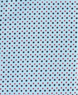 1506191-2 Blue shirt DOTS prints comfort fit