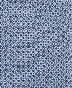 SLIM5295-2 Blue shirt RUEDA prints slim fit