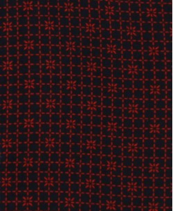 SLIM5295-7 Red shirt SIMBOLO prints slim fit