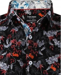 ENZO-532-5 Sleeveless STRETCH shirt FASCINATION prints slim fit