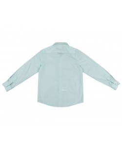 KIDS-901-75 Sky blue kids shirts 6 to 16 years