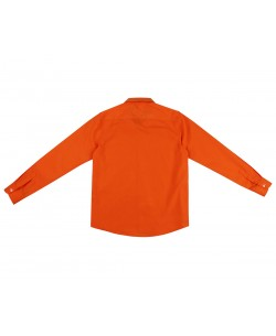 901-77 Orange kids shirts 6 to 16 years
