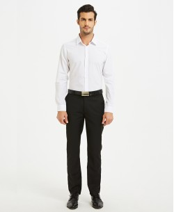 SLIM1009-9 White shirt slim fit spread collar