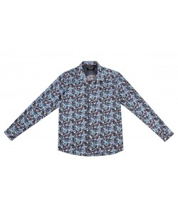 KIDS-301-6 Kids stretch shirt prints