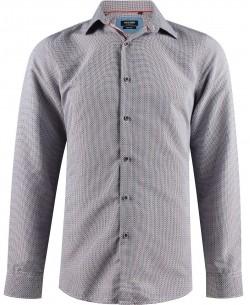 SLIM5288-5 White shirt BALDOSAS prints slim fit