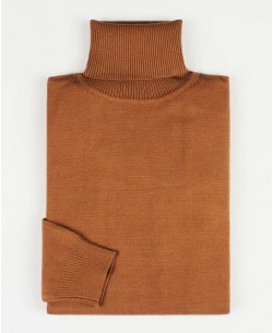 YE-6741-56 Camel turtle neck jumpers