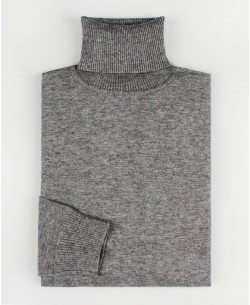 YE-6741-58 Grey turtle neck jumpers