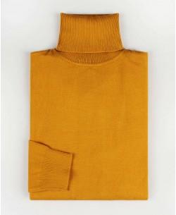 YE-6741-66 Mustard turtle neck jumpers