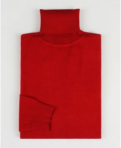 YE-6741-71 Red turtle neck jumpers