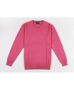 YE-6745-57 V-neck fuchsia jumper