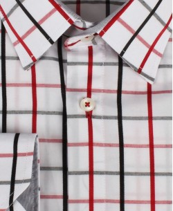 YE-7002-1 Checks shirt big size 2XL to 6XL