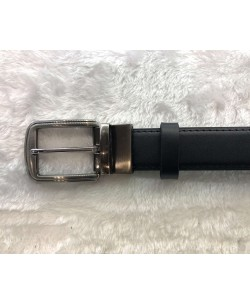 CE-9203 Black belt in leather with a presentation box