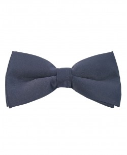 NP-409 Navy blue bow tie