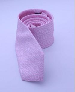 CRHQ-23 slim pink tie SYMETRIE prints