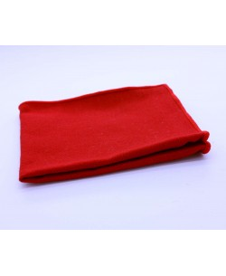 PS-306 Pocket square red in wool