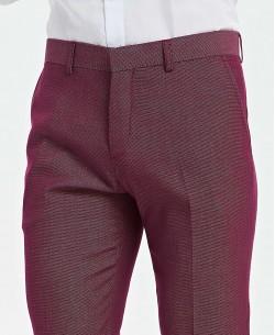 P-801-1 burgundy pants ( T38 à T50  )
