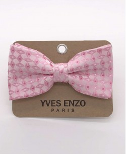 NP-443 Pink bow tie CHIC prints