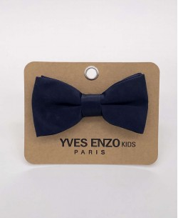 NP-809 Navy blue bow tie for kids