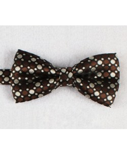 NP-479 Brown bow tie BULB prints