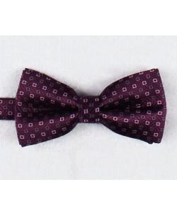 NP-482 Purple bow tie PLAZA prints