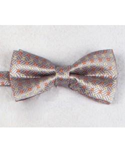 NP-483 Grey bow tie PLAZA prints