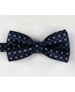 NP-487 Navy blue bow tie PLAZA prints