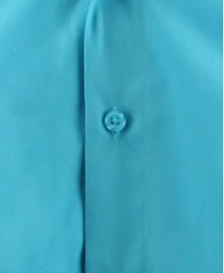 SLIM1009-5 Turquoise blue shirt slim fit