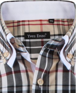 YE-1507019-1 Big size shirt