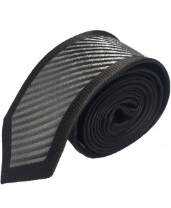 CR-27 Black striped tie