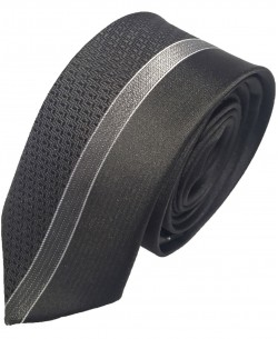 CR-31 Black printed tie