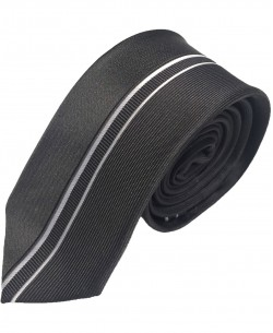 CR-34 Black printed tie