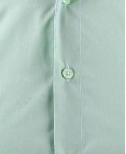 SLIM5153-2 Pinstriped green shirt slim fit