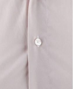SLIM5153-5 Pinstriped beige shirt slim fit