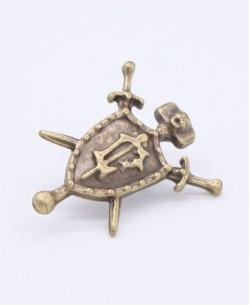 Iron pin